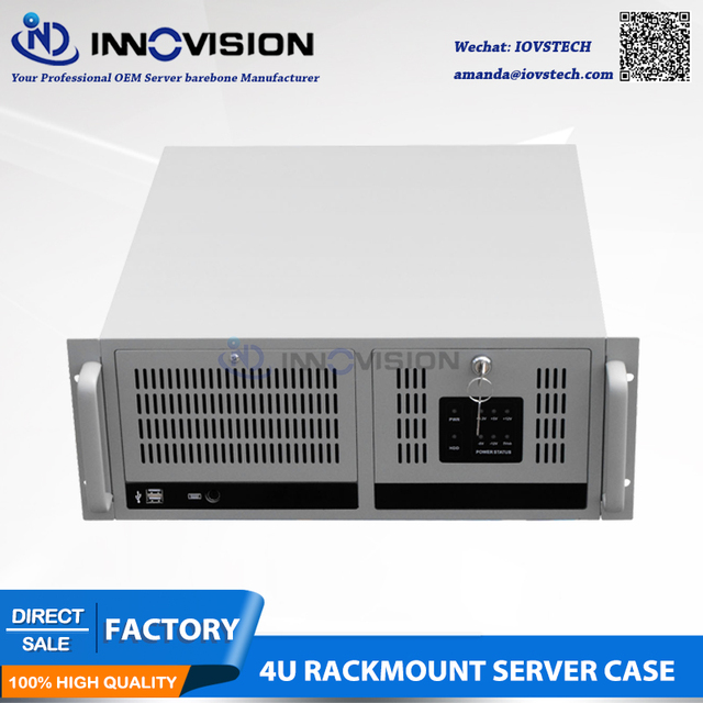 HQ 4U rack mount chassis IPC610H  with Visual & Audible Alarm Notification