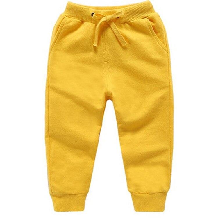 Retail New Warm Velvet Pants For 2-10 Yeas Solid Boys Girls Casual Sport Pants Jogging Enfant Garcon Kids Children Trousers 13