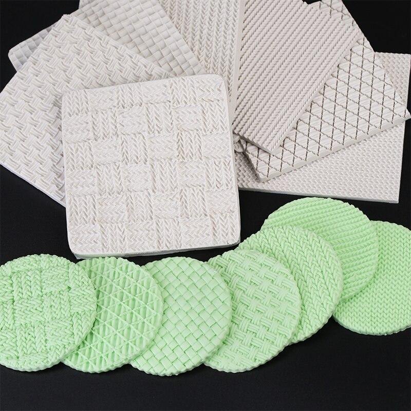 Knitting Cake Mould : Aliexpress buy yueyue sugarcraft knitting silicone