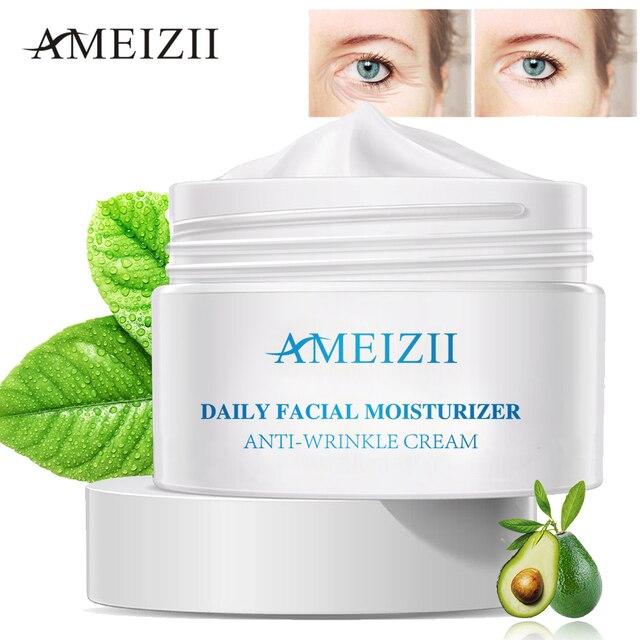 AMEIZII против морщин антивозрастной крем для лица Гиалуроновая кислота уход за кожей Lift увлажняющая эссенция для отбеливания удалить крем от морщин
