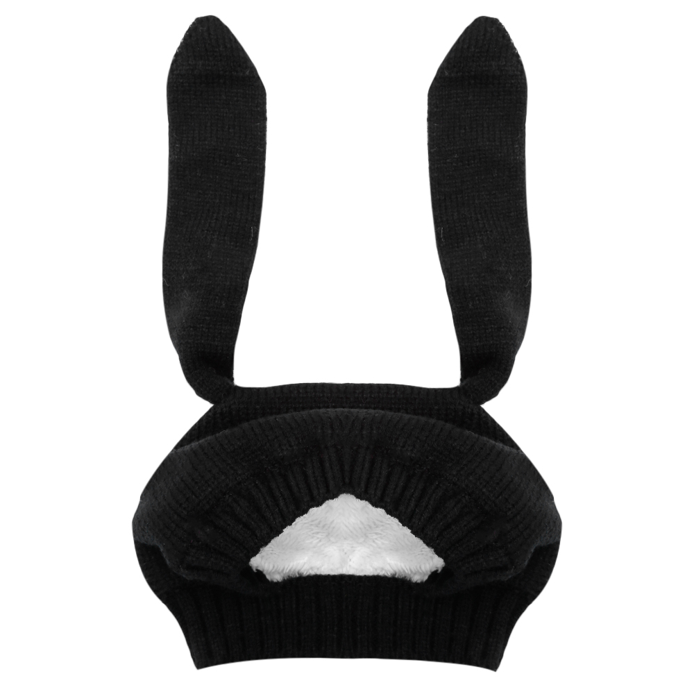 Winter Hat For Girls 2018 New N Baby Hat Children Knitted Velvet Rabbit Ears Beanie Hat  ...