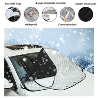 CARPRIE   Auto   Windshield Snow Cover Magnetic Waterproof Car Ice Frost Sunshade Protector Nov28 Drop Ship