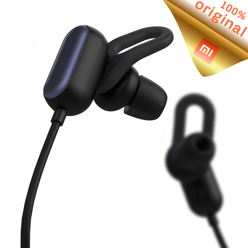 Original Xiaomi Sport Bluetooth Headset Youth Edition 2018 Bluetooth 4.1 With Mic Wireless Earphone Sweatproof IPX4 Waterproof