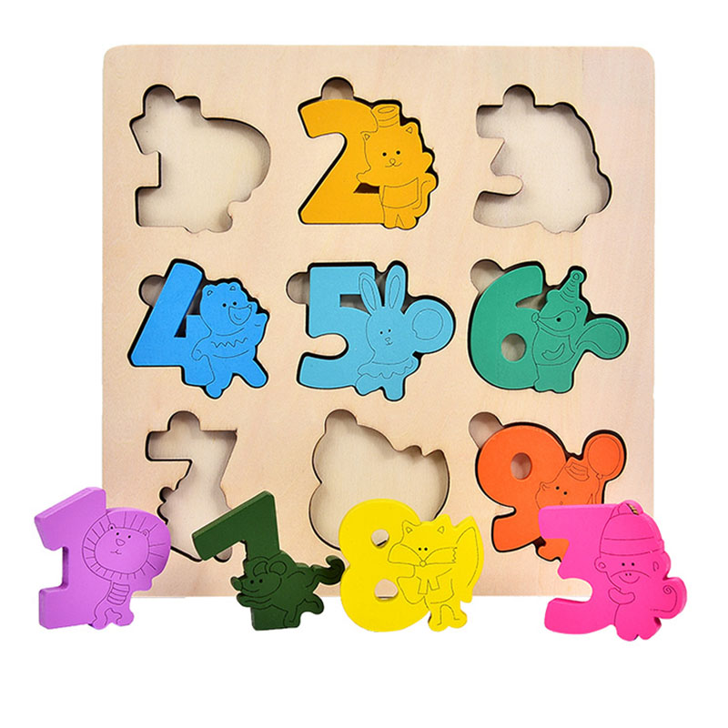 Baby Montessori Materials Sensorial Pazzle Toy Kids Preschool Educational Toys For Children Wooden Montessori Board Sensory Toys