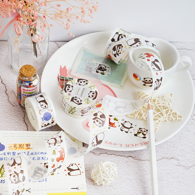 Decorative Cute Corgi Siberian Husky Washi Tape Diy Scrapbooking Photo Album School Scrapbooking Tools Kawaii Paper Stickers