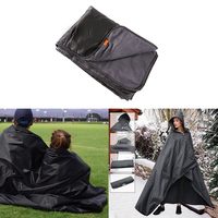 Waterproof Blanket Warm Fleece Great Outdoor Camping Mat for Camping All Weather Waterproof Blanket Mats Beach Picnic Use Large