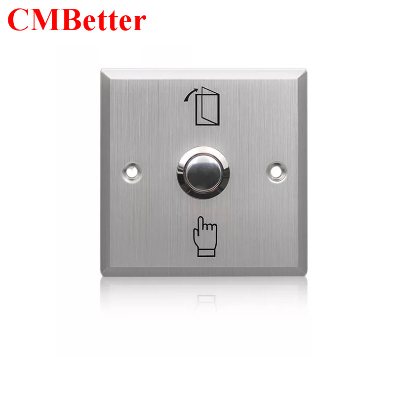 Stainless Steel Exit Button Push Switch Door Switch Opener