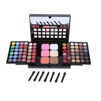 78 Color Eyeshadow Palette Set 48 Eye Shadow 18 Lip Gloss 6 Concealer 6 Foundation Face