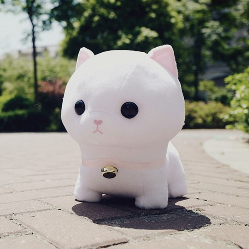 New Coming 1Pc 30-40Cm Super Cute Munchkin Cat Plush Toy Kawaii Staffed Animal Doll Kids Lovers Birthday Gift Home Decoration