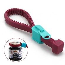 Открывалки для банок, ручная застежка-молния, консервный нож для увеличения трения, силиконовая крышка для бутылки, захват, лучший подарок для леди, креативный кухонный инструмент