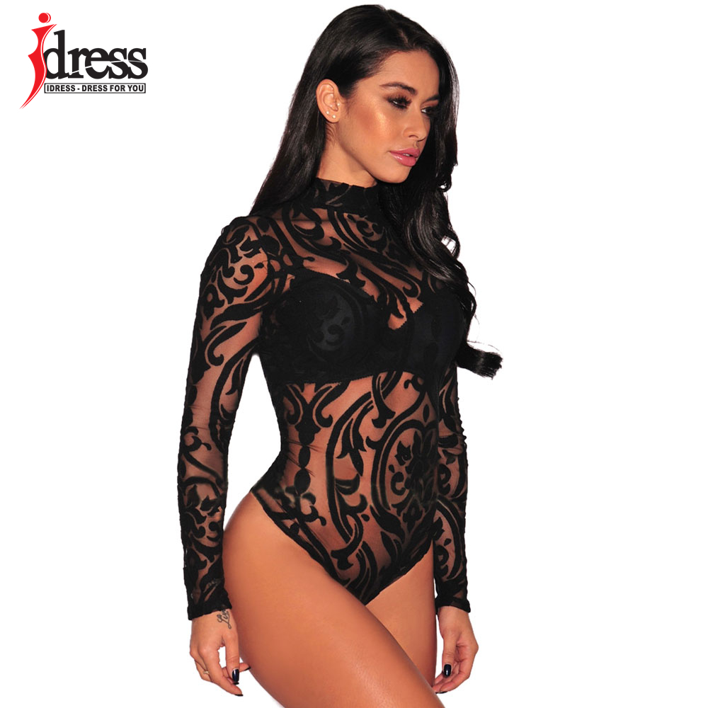 IDress, подиум, модный сексуальный комбинезон, кружевной, для вечеринки, комбинезон,, элегантный, бандаж, Monos для женщин, боди, сексуальный короткий комбинезон