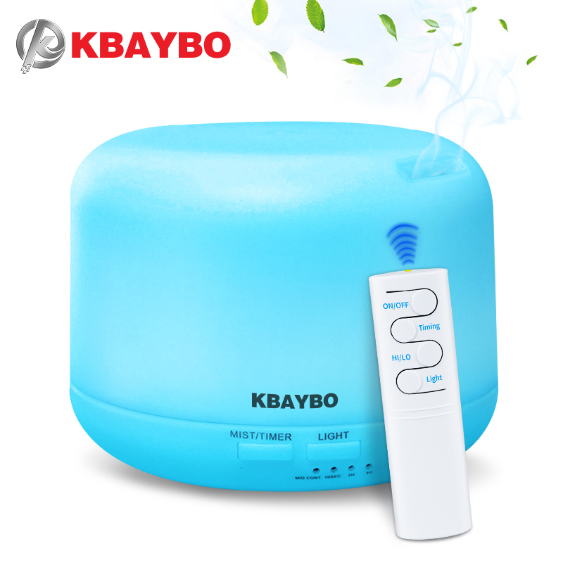 2019 New KBAYBO 300ML Electric Ultrasonic Air Humidifier USB Aromatherapy Essential Oil Aroma Diffuser with Remote Control2019 New KBAYBO 300ML Electric Ultrasonic Air Humidifier USB Aromatherapy Essential Oil Aroma Diffuser with Remote Control