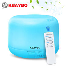 2019 New KBAYBO 300ML Electric Ultrasonic Air Humidifier USB Aromatherapy Essential Oil Aroma Diffuser with Remote Control