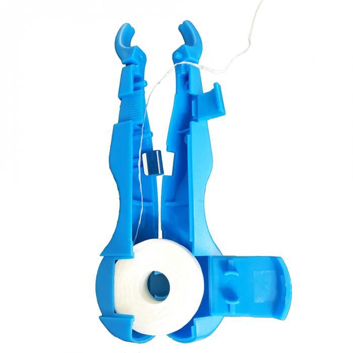 30 м нейлоновая зубная нить с держателем для чистки зубов, инструмент для ухода за полостью рта WH998