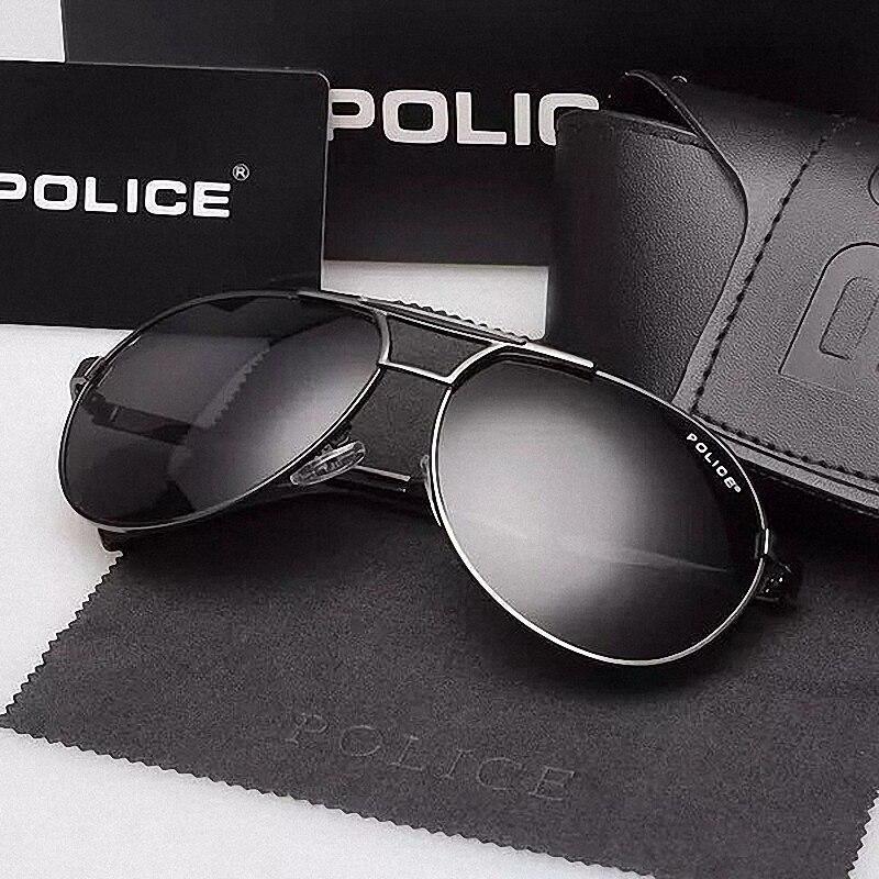 Glexal Polizei Männer Angeln Polarisierte Gläser Sonnenbrille Fahrerbrille Anti UV Fahr Gläser (originalverpackung Enthalten)