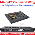 MA onPC Command Wing DMX Console Control 4096 Parameters 6 Pages Buttons Channel Fader Wing 4 Encoder Wheel Stage DMX Controller