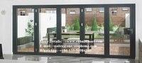 barn door,hardware,sliding door,front door,exterior heavy aluminum bi fold storefront bifold doors design