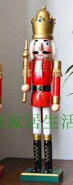 Crafts Arts Collection gifts England Super size 60CM British style King soldiers Nutcracker puppet mall childrens room hoCrafts Arts Collection gifts England Super size 60CM British style King soldiers Nutcracker puppet mall childrens room ho
