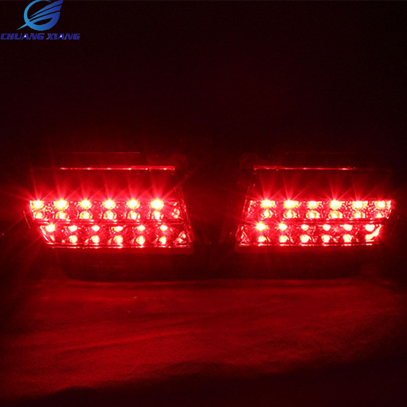 Chuangxiang Rear LED Fog Lamp Fog Light For Toyota Land Cruiser Prado LC150 Accessories 2010 2011 2012 2013 2014 2015 2016 2017 black rear trunk cargo cover shade for toyota land cruiser prado fj150 2010 2011 2012 2013 2014 2015