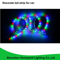 10pc high brigtness 90CM colorful led strip 90 leds SMD2835 IP68 drl daytime running light Ranger lamp DIY decorate led strip