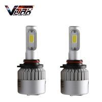 VMAX Par de 6500 K COB LED 9005 9145 HB3 Bombillas de Niebla luces 16000LM Car-styling Daytime Running Lights Conducción Bombilla LED Auto Lmps