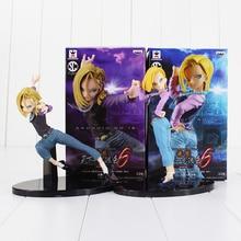 15cm Dragon Ball Deagonball Super Saiyan font b Android b font NO 18 Lazuli DXF PVC