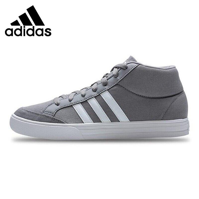 Original New Arrival 2017 Adidas VS SET MID Men's Basketball Shoes Sneakers original new arrival 2017 adidas ball 365 inspired men s basketball shoes sneakers