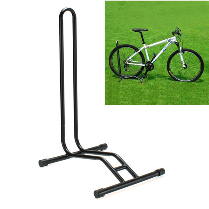 Heavy Duty L-type Bicycle Coated Steel Display Floor Rack Bike Repair Stand Mountain Bike Rack Parking Holder Accessories mountain bike repair stand kickstand wings kickstand road bicycle aluminum alloy rack bike repair tool accessories parking