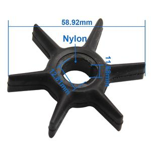 Image 3 - CarBole Water Pump Impeller For Mercury 47 42038 47 42038 2 47 42038Q02 18 3062 4.8 9.9 10 15 HP Outboard Engine Impeller Parts
