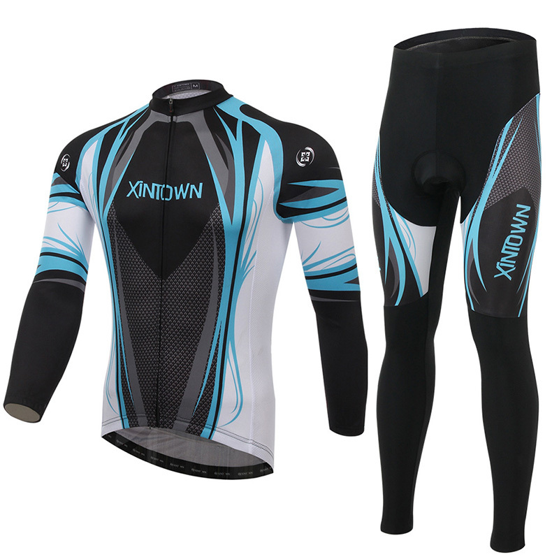 2016 Maillot Ciclismo Real Jerseys Sport Cycling Clothes Long Style Ropa Ciclismo Bicycle Clothing With Gel Pad Bike Apparel