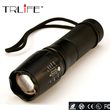 LED Flashlight 3800lumen Camping Light CREE XML-T6 Zoomable Bike Light Torch Led Bicycle Light Hunting Outdoor Light