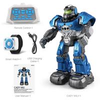Smart Infrared Singing Dancing Rc Robot Following Watch Remote Control Robot Model Dolls Popular Toys