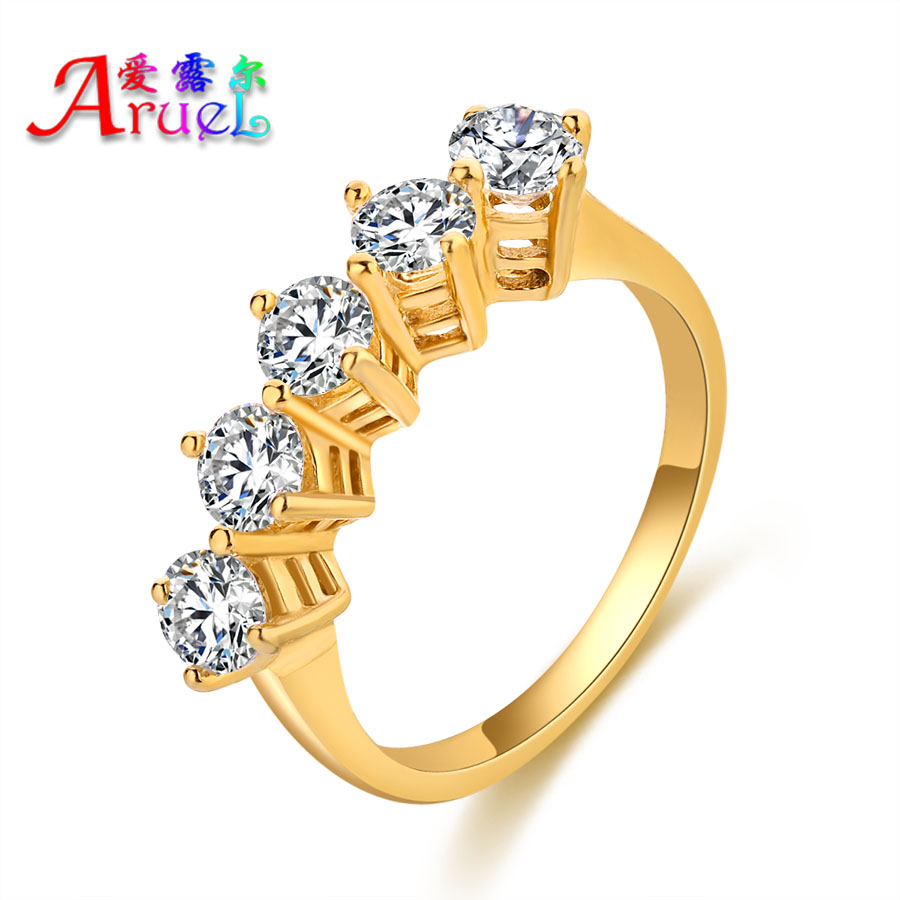 online get cheap crystal design wedding gold ring -aliexpress