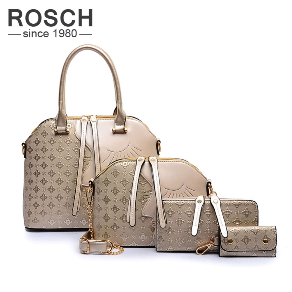 Fashion Luxury Women Top Handle Composite Bags Famous Brand Women Messenger font b Handbag b font