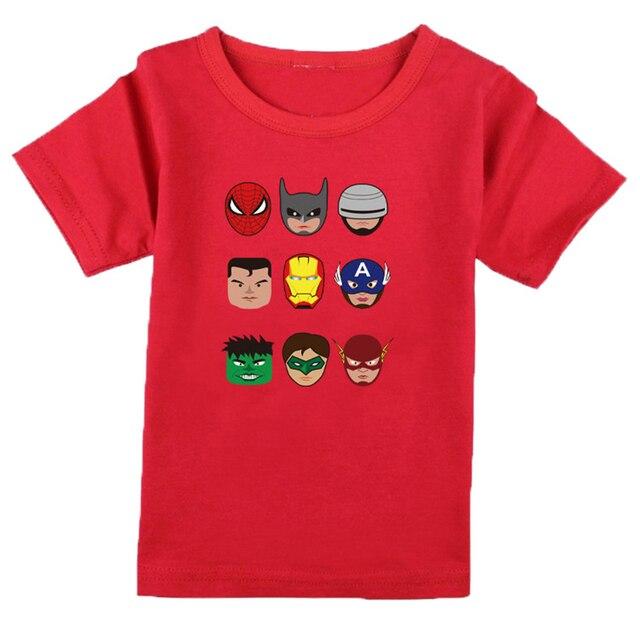 Новый детский с коротким рукавом Футболки мужской и женский ребенка хлопка с короткими рукавами Футболки печать мальчики т рубашка блузка летняя