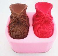 الجملة الأحذية العفن سيليكون قوالب الصابون اليدوية الصابون جعل diy كرافت السليكا هلام العفن الغذاء الصف المواد