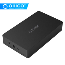 ORICO 3,5 дюймовый корпус HDD SSD адаптер USB 3,1 Gen2 SATA для samsung жесткий диск Box 3,5 2,5 Внешний жесткий диск корпус