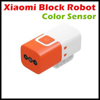 In Stock Xiaomi Building Block Robot Color Sensor English App Color And Grayscale Recognation Wireless