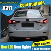 Penetrating type dynamic turn signal car Styling for Mazda 3 Axela LED Taillights 2014 2017 Fog Light DRL+Brake+Park lights