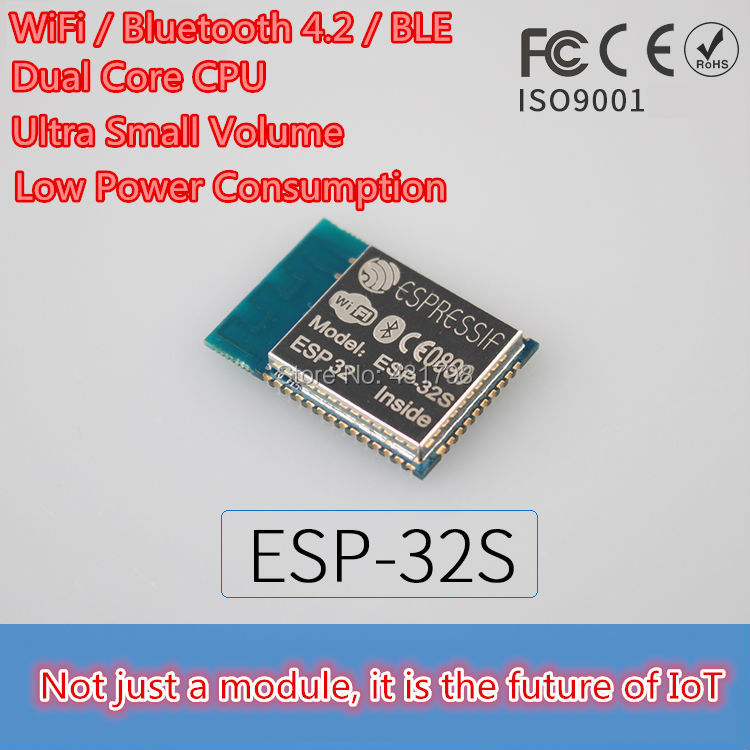 ESP-32S / ESP-3212 / ESP-WROOM-32 / IoT WiFi Bluetooth module (Superior ESP8266 ) 1pcs esp32 wemos esp 32 wifi modules bluetooth dual esp 32 esp 32s esp8266