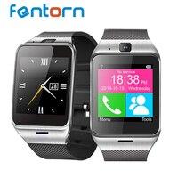 Fentorn GV18สมาร์ทดูซิงค์แจ้งเตือนสนับสนุนซิมการ์ดสำหรับโทรศัพท์Android 1.3ล้านพิกเซลกล้องSMSนาฬิกาปลุก...