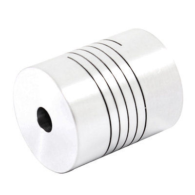 1pc D25L30 6mm 6.35mm 8mm 10mm 12mm Shaft Usage CNC Motor Helical Shaft Coupler Beam Coupling Connect Encoder image