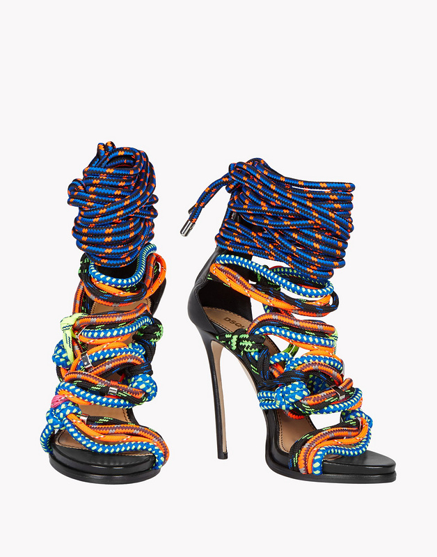 2016 fashion Sexy Luxury women sandals lace up booties multi color rope shoes gladiator sandals back zip thin high heels new 2017 hot selling fashion women luxury sexy black gladiator cuts out open toe lace up back 100 mm phaedra peacock sandals