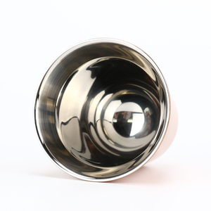 Image 5 - エスプレッソマグ 80 ミリリットル 160 ミリリットル 2 のセット、ステンレス鋼のエスプレッソカップセット、絶縁茶コーヒーマグ二重壁カップ食器洗い安全
