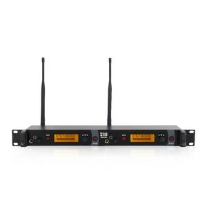 Image 2 - Xtuga IEM1200でシステム2チャンネル2ボディパックモニタリングイヤホンワイヤレスタイプ使用ステージ