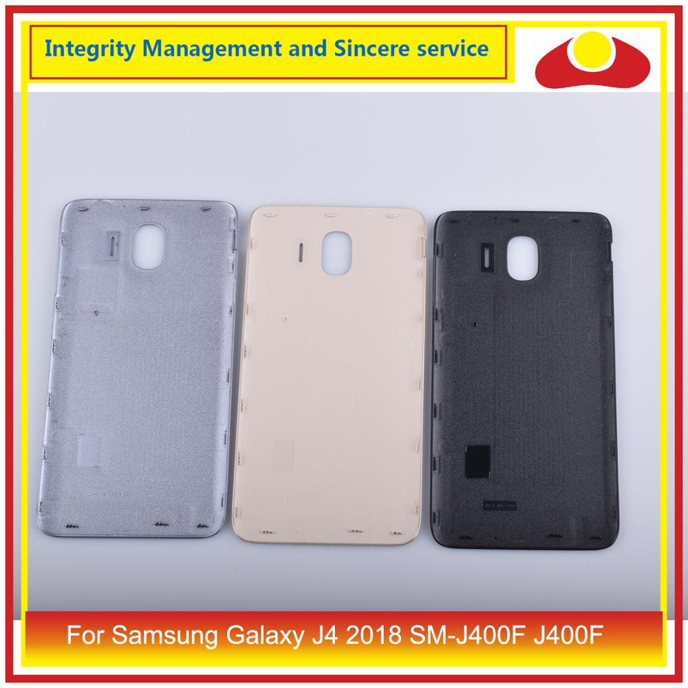 Image 2 - Original For Samsung Galaxy J4 2018 SM J400F J400 J400F Housing Battery Door Rear Back Cover Case Chassis Shell Replacement-in Mobile Phone Housings & Frames from Cellphones & Telecommunications