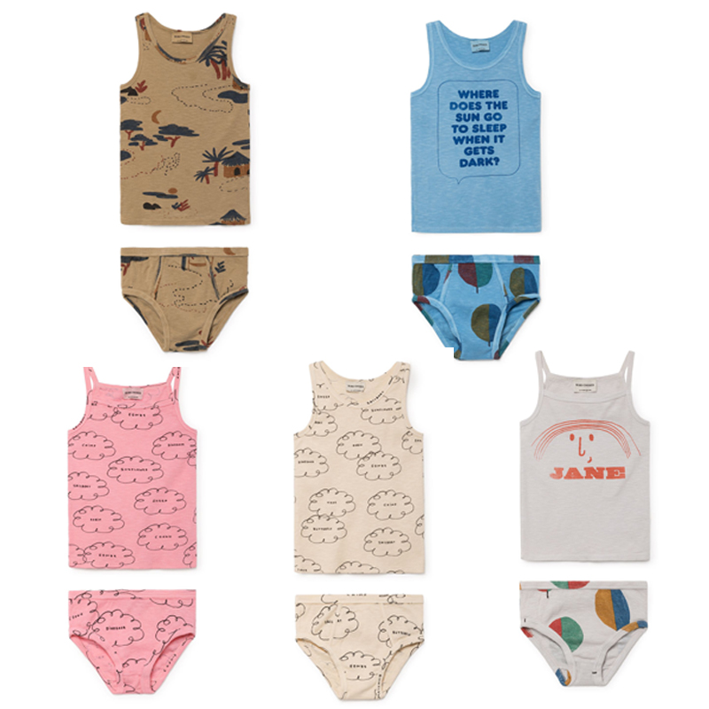 BBK In stock Bobo Choses 2018 Summer Clothing baby boys Clothing Sets girl clothes Toddler Kids Tops Cotton T-shirts Shorts 2018 new big girls clothing sets summer t shirts tops shorts suits 2 pieces kids clothes baby clothing sets 6 8 10 12 14 year