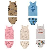 BBK Pre Sale Bobo Choses 2018 Summer Clothing Baby Boys Clothing Sets Girl Clothes Toddler Kids