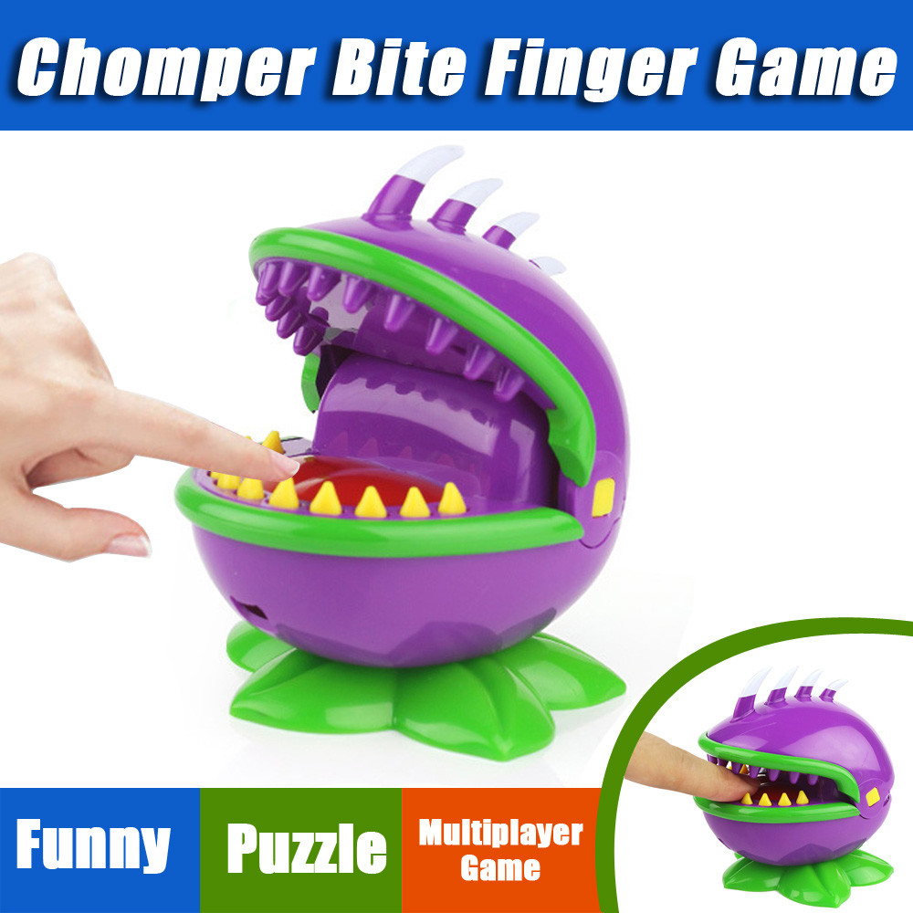 Amusing Chomper Biting Finger Game Mouth Dental Toys Party Home Game Party Game