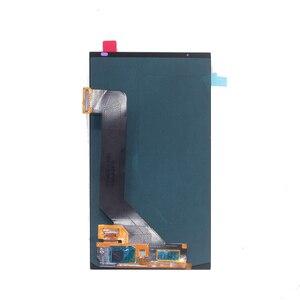 Image 4 - AMOLED per zte Axon 7 LCD A CRISTALLI LIQUIDI di tocco digitale dello schermo di ricambio A2017 A2017U A2017G Asembly zte A2017 Axon7LCD + Trasporto trasporto libero
